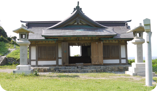 宗像大社沖津宮礼拝所