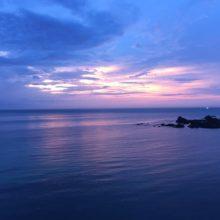 夕方の宗像大島